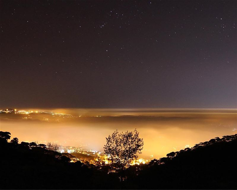 When the spirit shines,even foggy skies make pleasant light....... (Falougha, Mont-Liban, Lebanon)