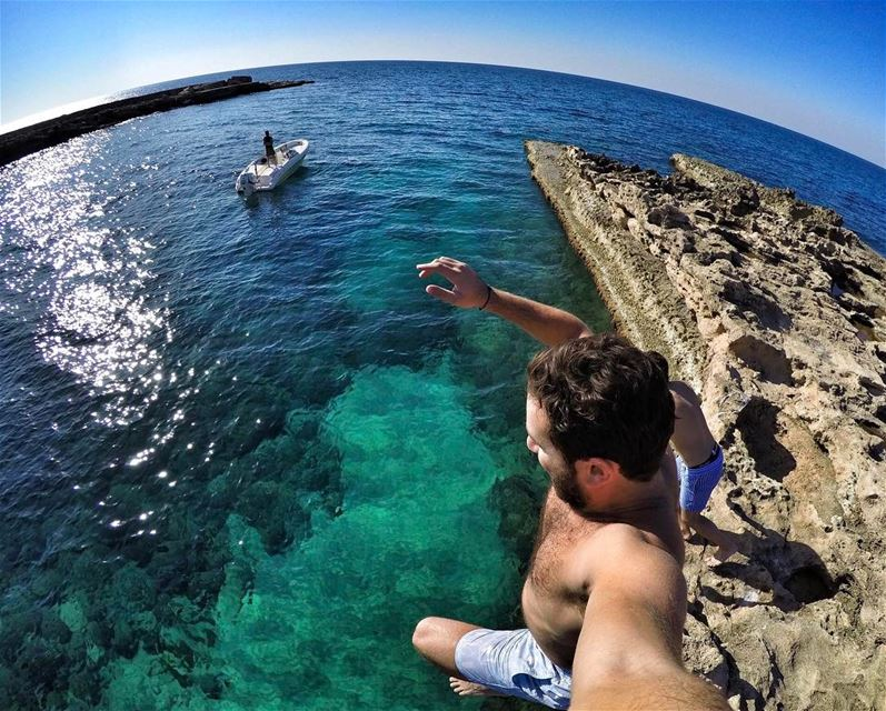 Just Do It ✔️ Livelovebeirut  Sea  Lebanese  lebanon  Instagram  Gopro ... (Joining)