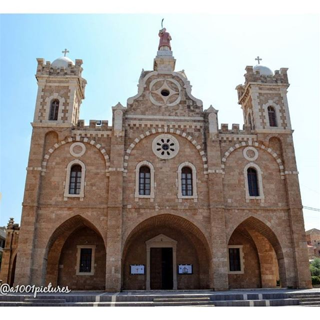 St. Stephen cathedral. Built on the site of an old church & completed  in... (Mina-batroun)