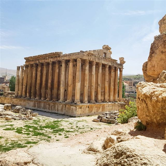 The Temple of Bacchus, is the Archaelogical gem of the Acropolis of... (Temple of Bacchus)