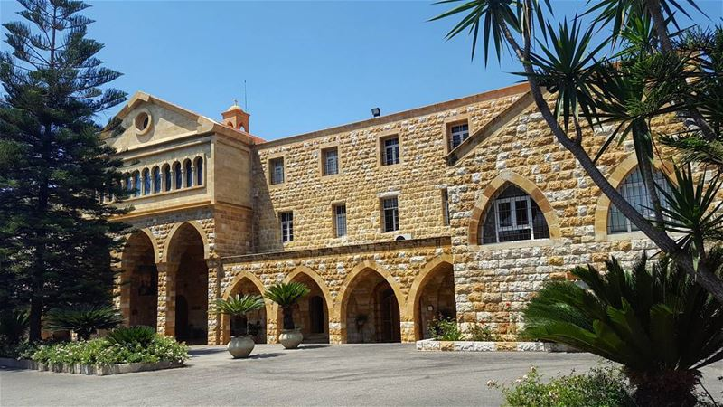 Saint Elias Monastery - Jeita ⛪ churchesoflebanon  lebanonchurches  كنيسة... (Mar Elias jeita)