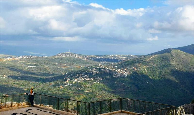 Life is Like a mountain, Hard to climb but worth the Amazing View from the... (Beaufort Castle, Lebanon)