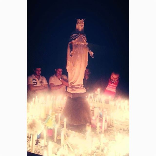 Mother Mary mother of all pray for us Amen🌹   mother  motherofall ... (The Lady of Lebanon - Harissa)