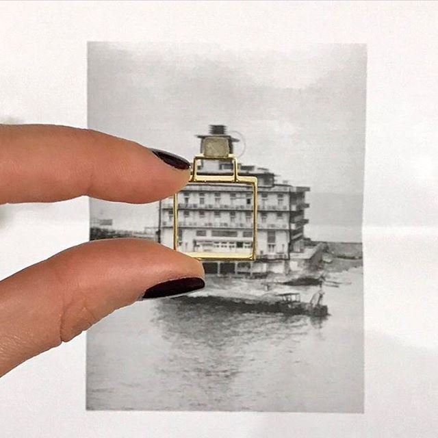 What an interesting concept! This designer used several landmarks in...