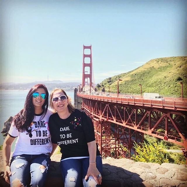 motheranddaughter   trenddemoibynermine   designer   lebanesedesigners  ... (Golden Gate Bridge)