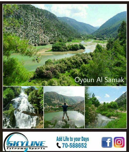 """Oyoun Al Samak"" grab your backpacks and let's go... An amazing  hike that..."