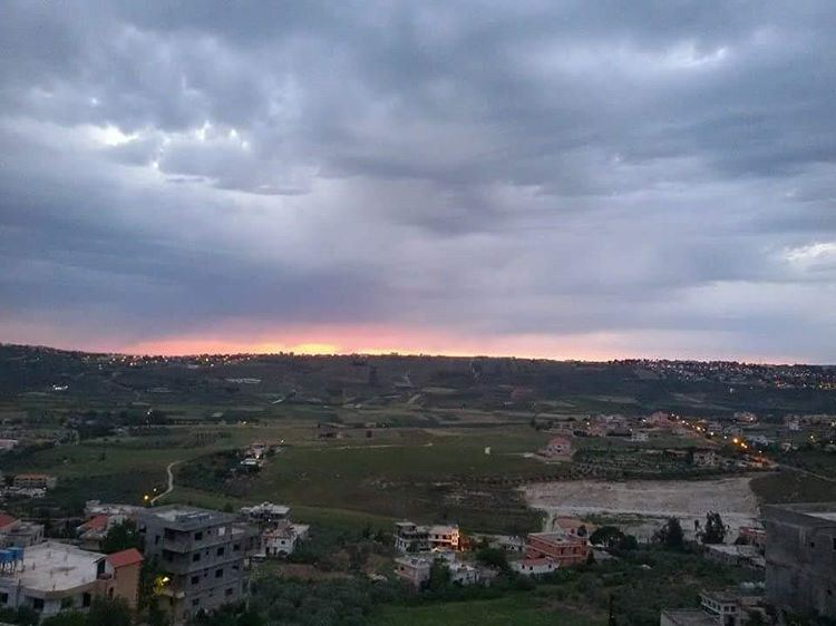 ❤ tb  2  years  ago  2015  breathtakingviews  clouds  light  sunset  hope... (Al Khiyam, Al Janub, Lebanon)