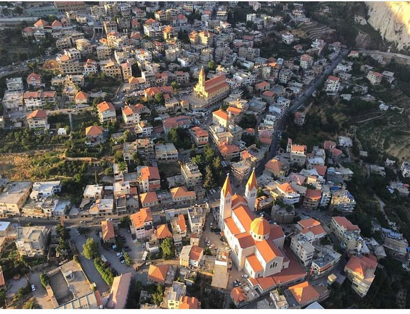 Flying over  LiveLoveBcharre  by @georgerahme @cedarsparagliding (Bcharreh, Liban-Nord, Lebanon)