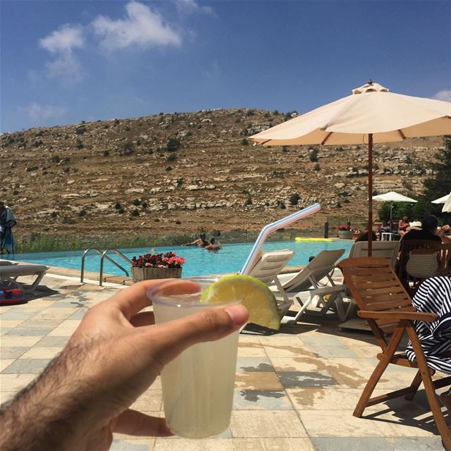 is it summer yet .. ? 🏖🍹 .wish to all of you a happy summer full of... (Faraya Faqra)