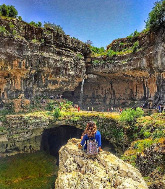 Take the journey to enjoy the view 👒 livelovehiking  trail  hiking ... (Tannourine - Balou' Balaa)