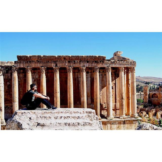 """Fill your life with adventure, not things. Have stories to tell not stuff... (Baalbek , Roman Temple , Lebanon)"