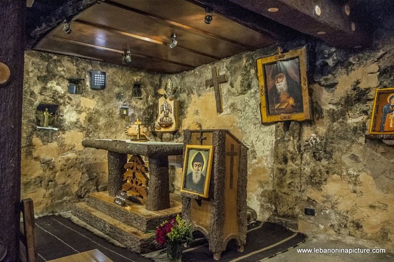 Saint Charbel's Home (Bekaakafra, North Lebanon)