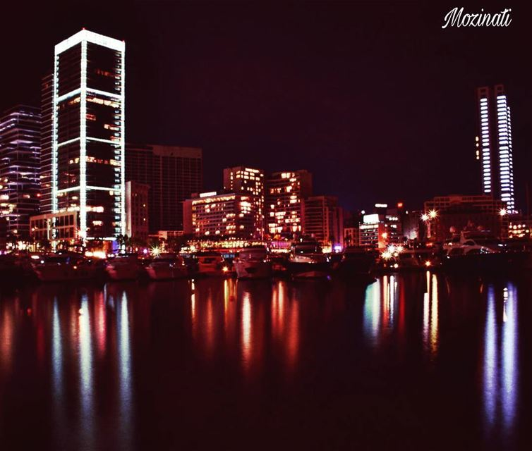 nights night nightout nightlife nightin building buildings boats light... (Beirut, Lebanon)