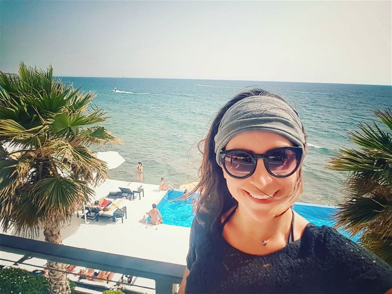 myselfies' collection😎 selfiesmile  selfiesfordays  sunnydays ... (Orchid Beach Resort Batroun)