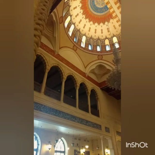 The other day, my sister which was also my tour guide took me to downtown... (Mohammad Al Amin Mosque)