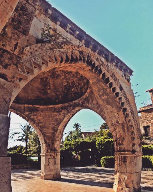 Church  SaintJeanMarc  Arcade  Heritage  Old  ByblosHeritage  Traditional... (St Jean Marc Church, Byblos)