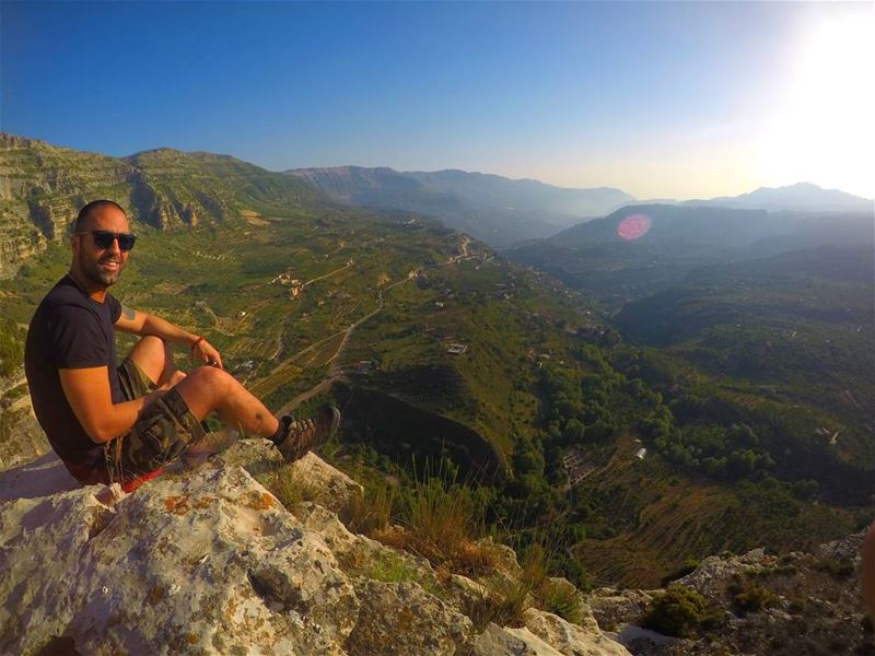 One of the things I enjoy is the challenge of Mother Nature. goprohero5 ... (Akoura, Mont-Liban, Lebanon)