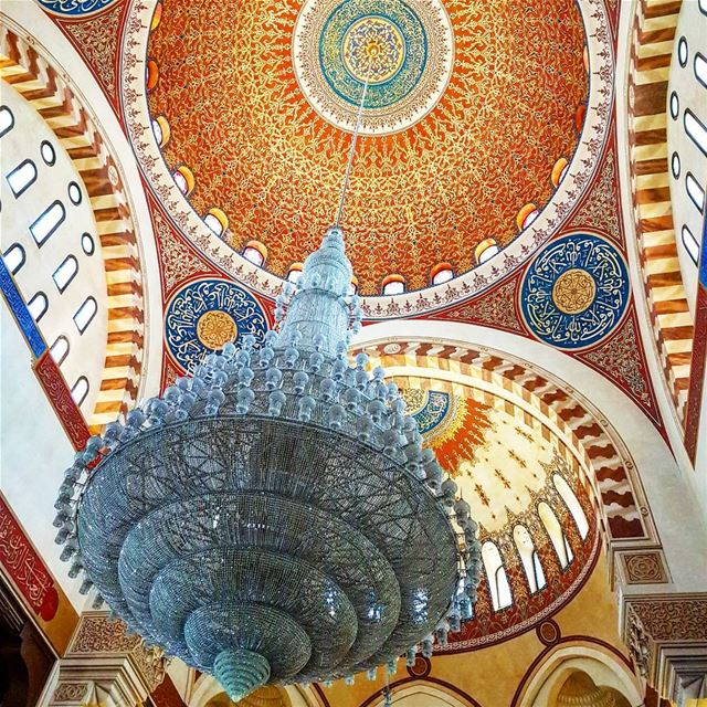 beirut  lebanon  middleeast  amazing  colours  mosque  religion  culture ... (Mohammad Al Amin Mosque)