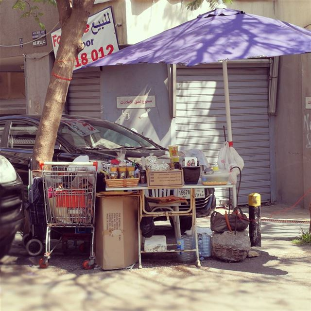 Open air mini market  liveloveachrafieh  livelovebeirut  livelovelebanon ... (Achrafieh, Lebanon)