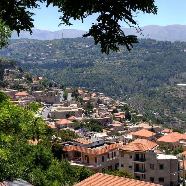 This village of pop.1500 used to be Mount Lebanon's capital, back when the...