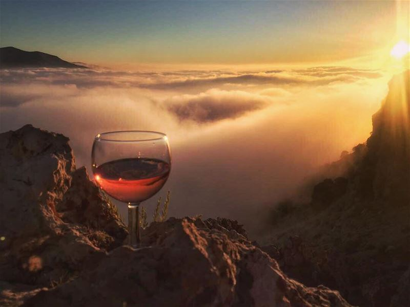 "I just need you ""🍷"" and a sunset😌 ... (Cedars of God)"