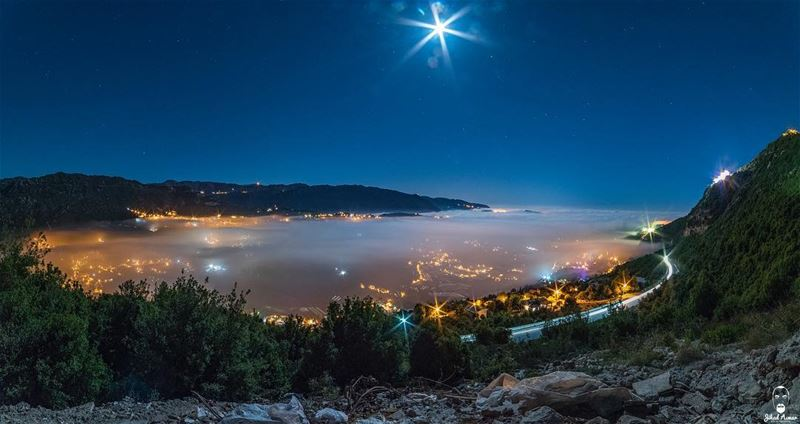 Above the sea of Fog... @liveloveehmej @livelovelebanon @livelovebeirut @le