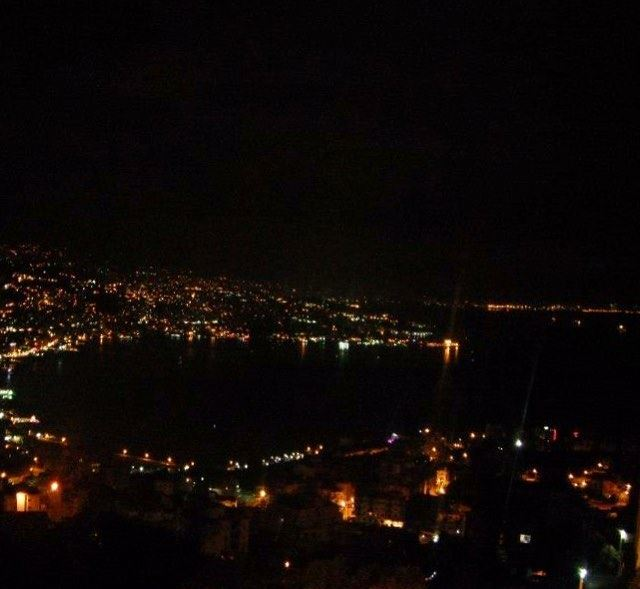 awesomeview of  jouniehbay  bynight  jounieh  bay  night  citylights ... (Bay Of Jounieh)