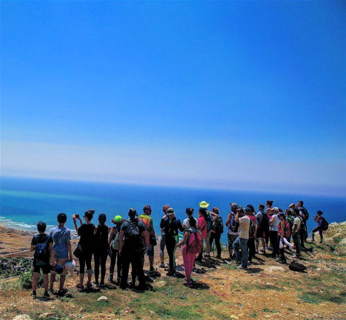Meet me where the sky touches the sea ❤ hiking  explorelebanon ... (Hamâte, Liban-Nord, Lebanon)