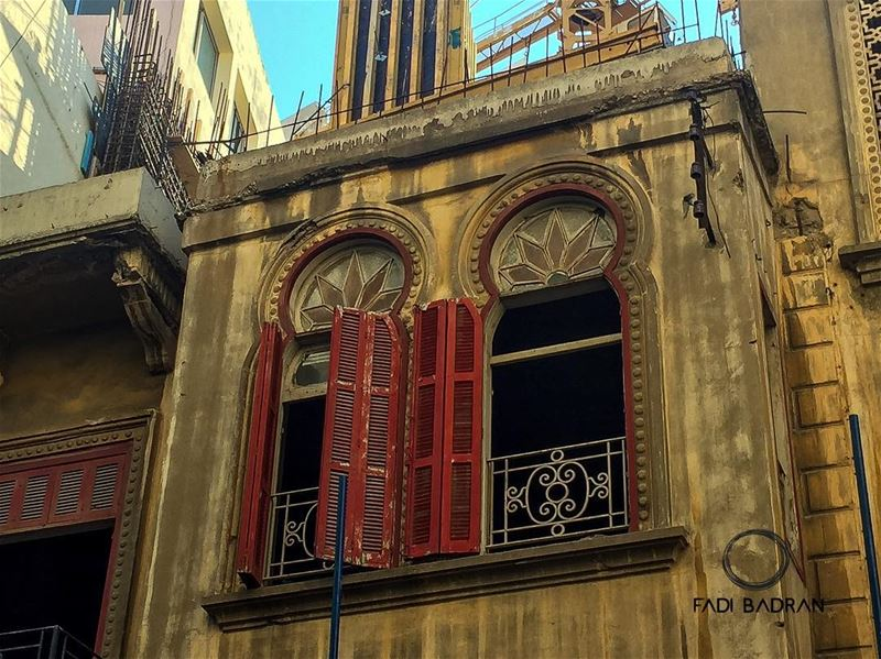 Windows..... lebanon  beirut  architecture  beautifuldestinations ... (Beirut, Lebanon)