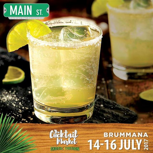 To all Main Street fans, we look forward to see you at The Cocktail Market... (Brummana High School)