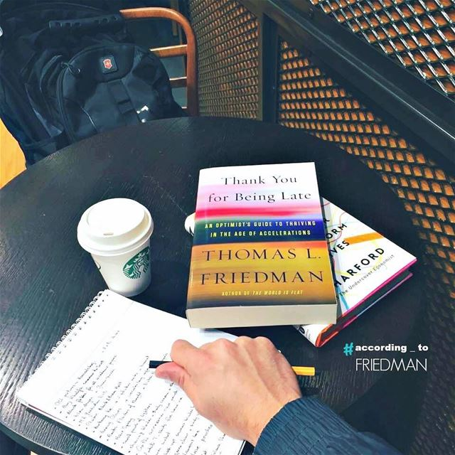 It's been a few years since I read for Thomas Friedman. The author who... (United Kingdom)