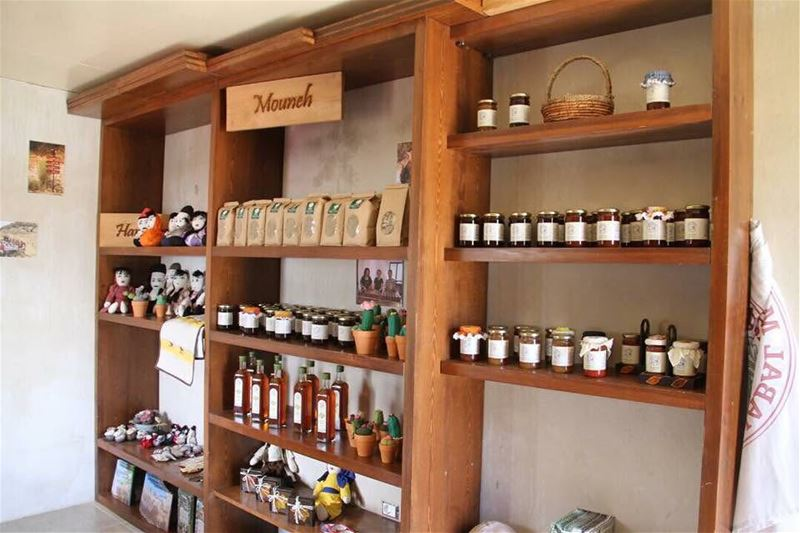 Don't miss purchasing some of  JabalMoussa food and handicraft products...