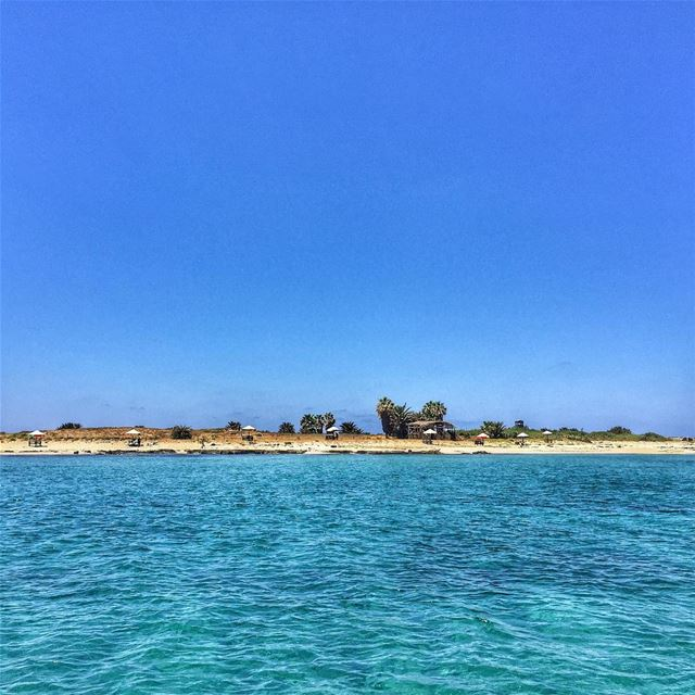 Rabbits Island 🐰-  LiveLoveTripoli  Summer  Sea  Sky LiveLoveLebanon ... (Tripoli, Lebanon)