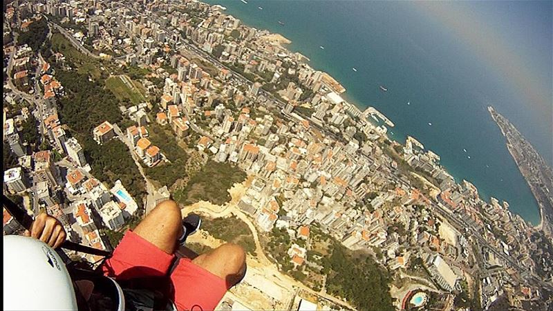 paragliding  lebanon🇱🇧  amazing  pictureoftheday  instamood ... (Paragliding Jounieh)