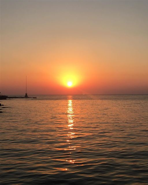 lebanon  beirut  sea  view  sunset  summer  relaxing  nostalgia  beach ...