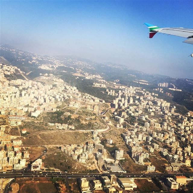 Bye Bye Lebanon 🇱🇧 🛫 ✈️Fly With True Colours MEA Airlines✈️ ... (Beirut–Rafic Hariri International Airport)
