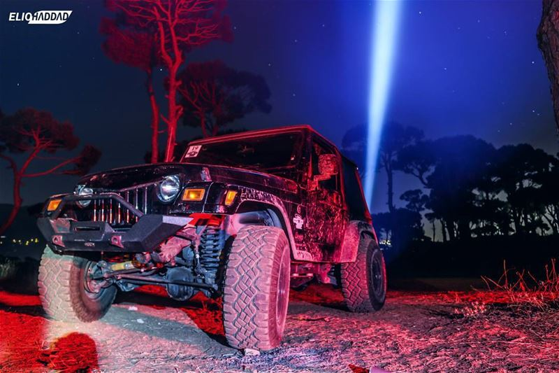 Offroad  Ride  Jeep  Wrangler  4x4  Night  Sky  Lights  Nature ...