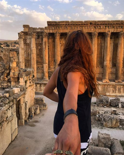 I follow three rules: Do the right thing, do the best you can and always... (Baalbek , Roman Temple , Lebanon)