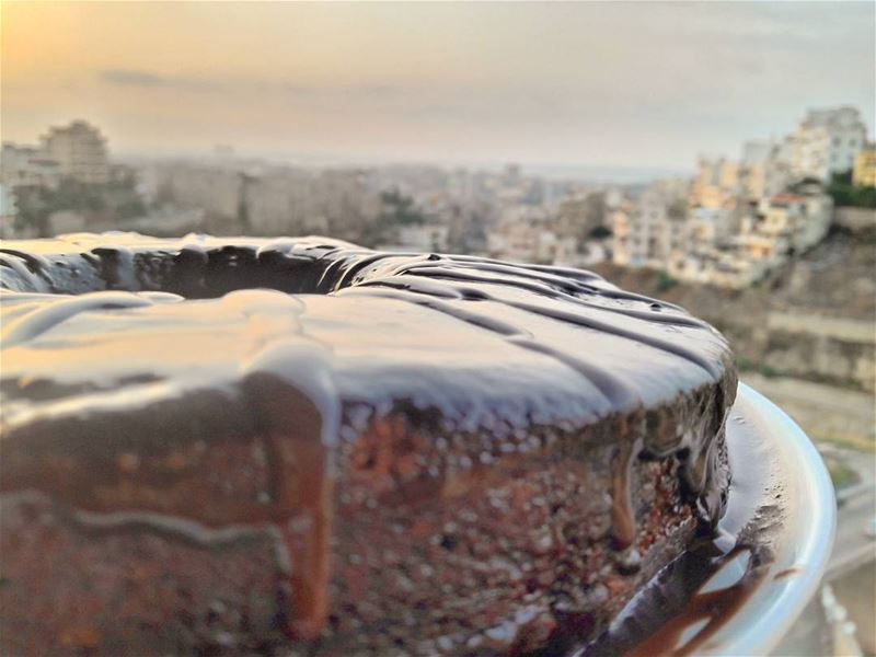 A home-made chocolate cake is the answer to any question, a solution to... (Tripoli, Lebanon)