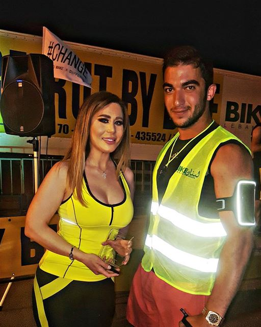 the  queen  beauty  lebanese  star  vivianmrad  beirut  by  bike  event ... (Biking Biel)