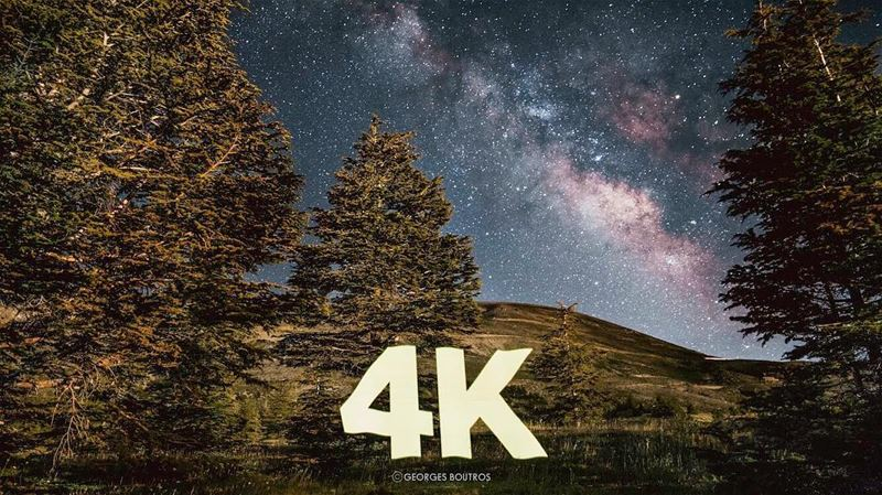 Thank you beautiful people ✨❤️ 4K reasons to keep on shooting 🌌-... (Lebanon)
