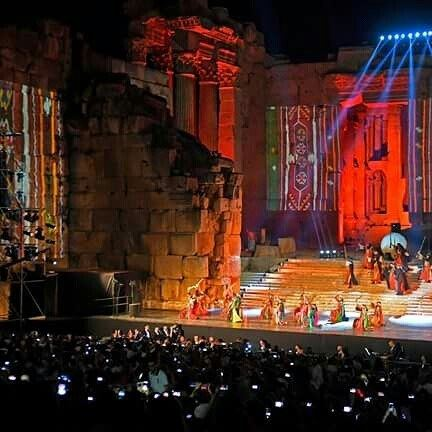 By Nabil Ismail Baalbeck International Festivalsمهرجانات بعلبك الدولية ...
