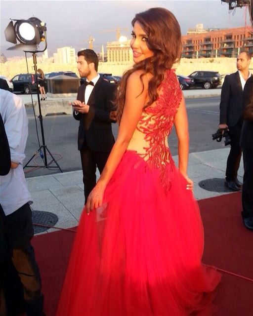 Biaf  Buaf2015  Redcarpet  Red  Stylish  stylishhair  makeup  redlips ...