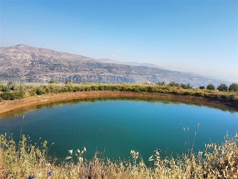 The eye lake.  instalebanon  livelovelebanon  faraya ... (Faraya Faqra)
