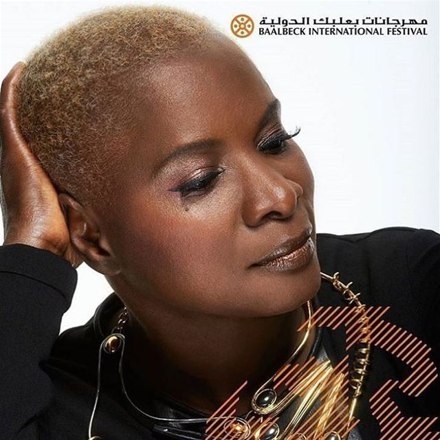 @angeliquekidjo live on Sunday July 16 ☀️☀️☀️Get your tickets from all... (Baalbeck International Festival)