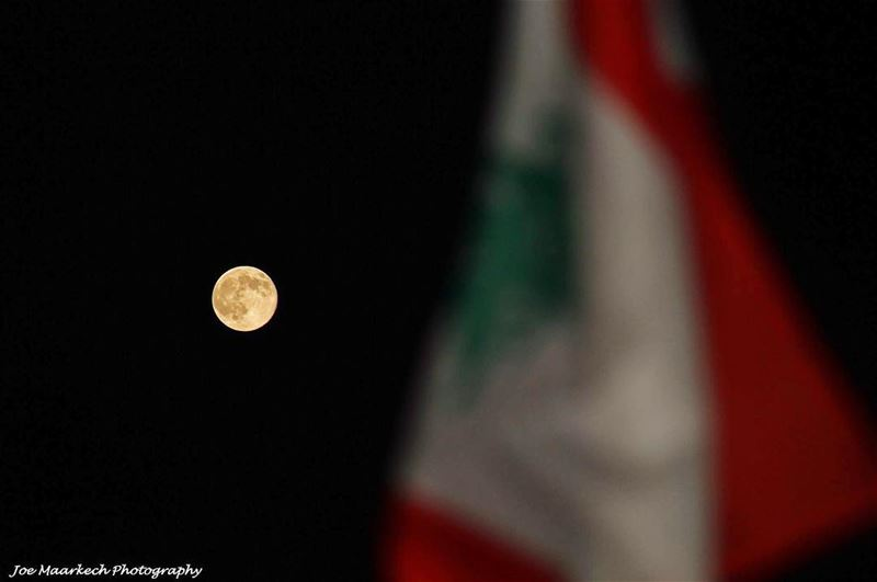 "My Love to Lebanon and Our Lebanese Army is "" To The Moon And Back "" ..."
