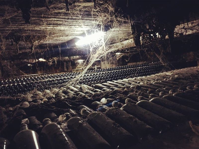 A pilgrimage to the cobweb-covered cellars of Chateau Musar, founded in... (Chateau Musar)