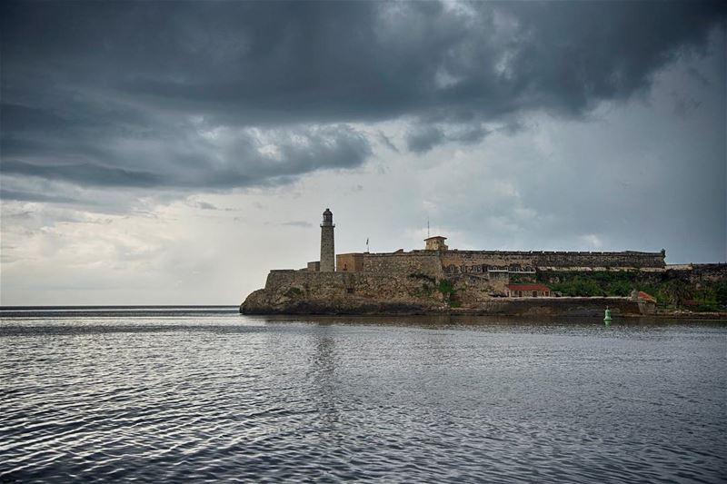 The Morro castle ...shot in  cuba  havana  castle  lighthouse  landscape ...