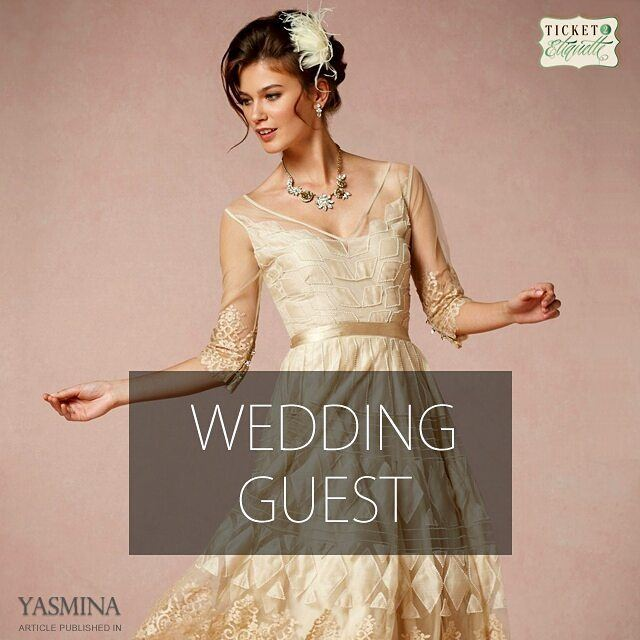 Vera on the proper  weddingguest  etiquette with @gracytta in @yasminadotco (Beirut, Lebanon)