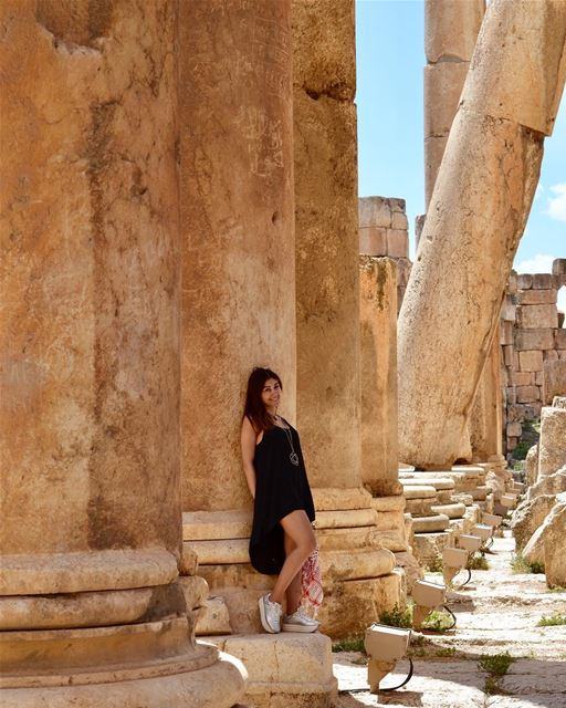 Sometimes it is as simple as raw emotion. whatworksformaya ... (Baalbek , Roman Temple , Lebanon)